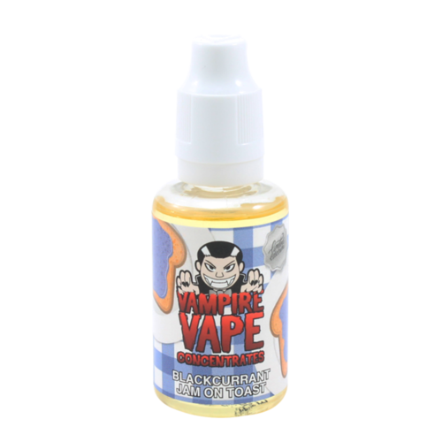 Vampire Vape Aroma Blackcurrant Jam on Toast 30ml