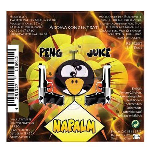 Twisted Peng Juice Napalm Aroma 20ml