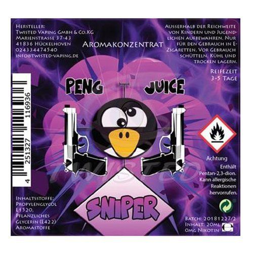 Twisted Peng Juice Sniper Aroma 20ml